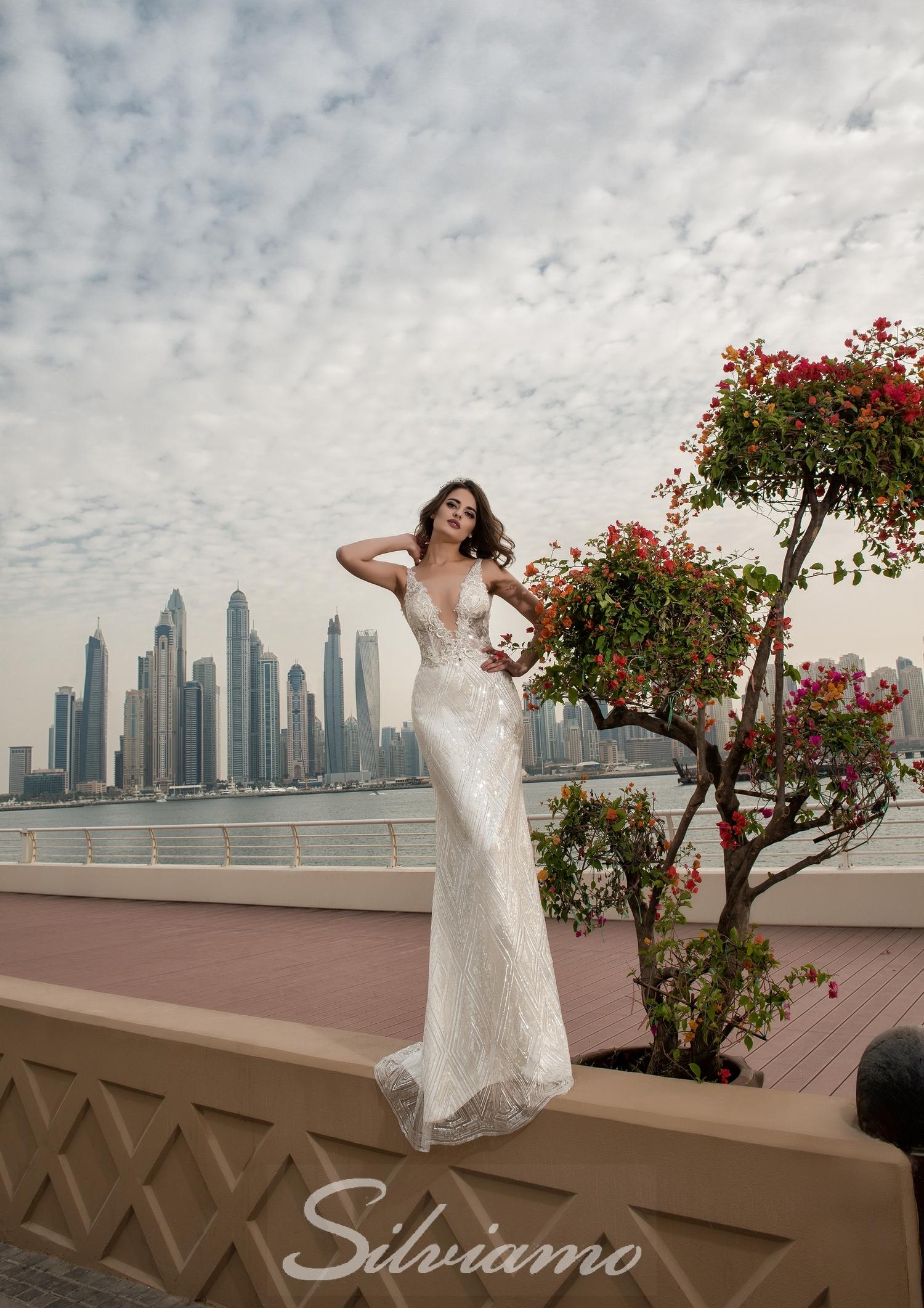 свадебное платье от Silviamo