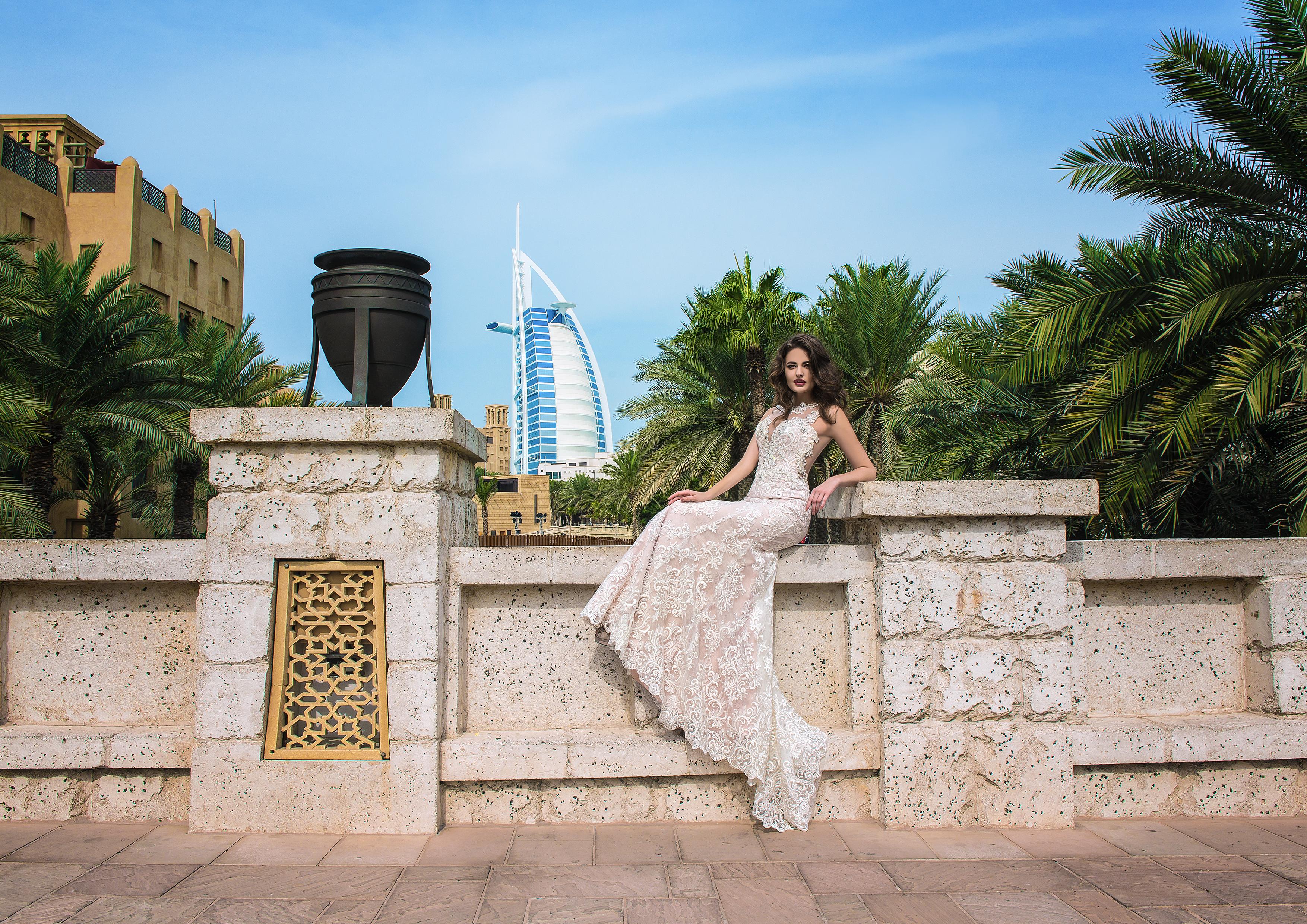 Royal satin wedding dress-1