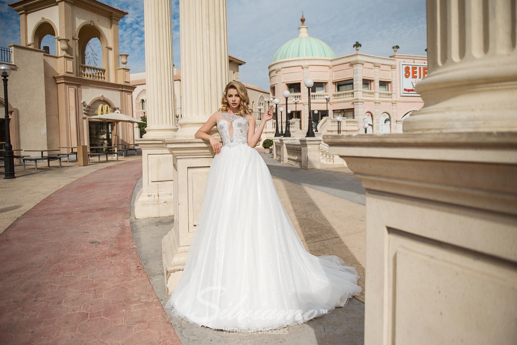 Весільна сукня з «індійською» вишивкою-1
