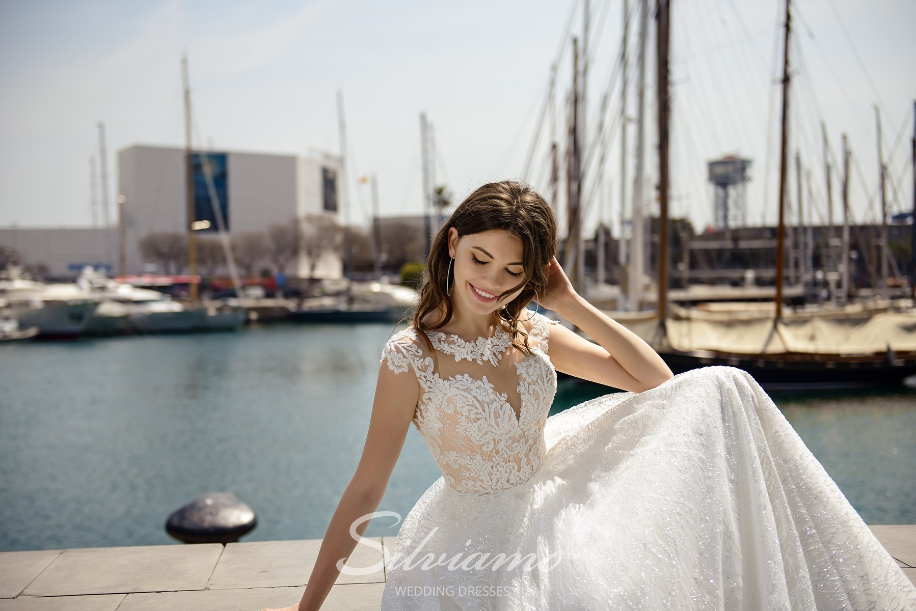 Lace wedding dress from Silviamo-1