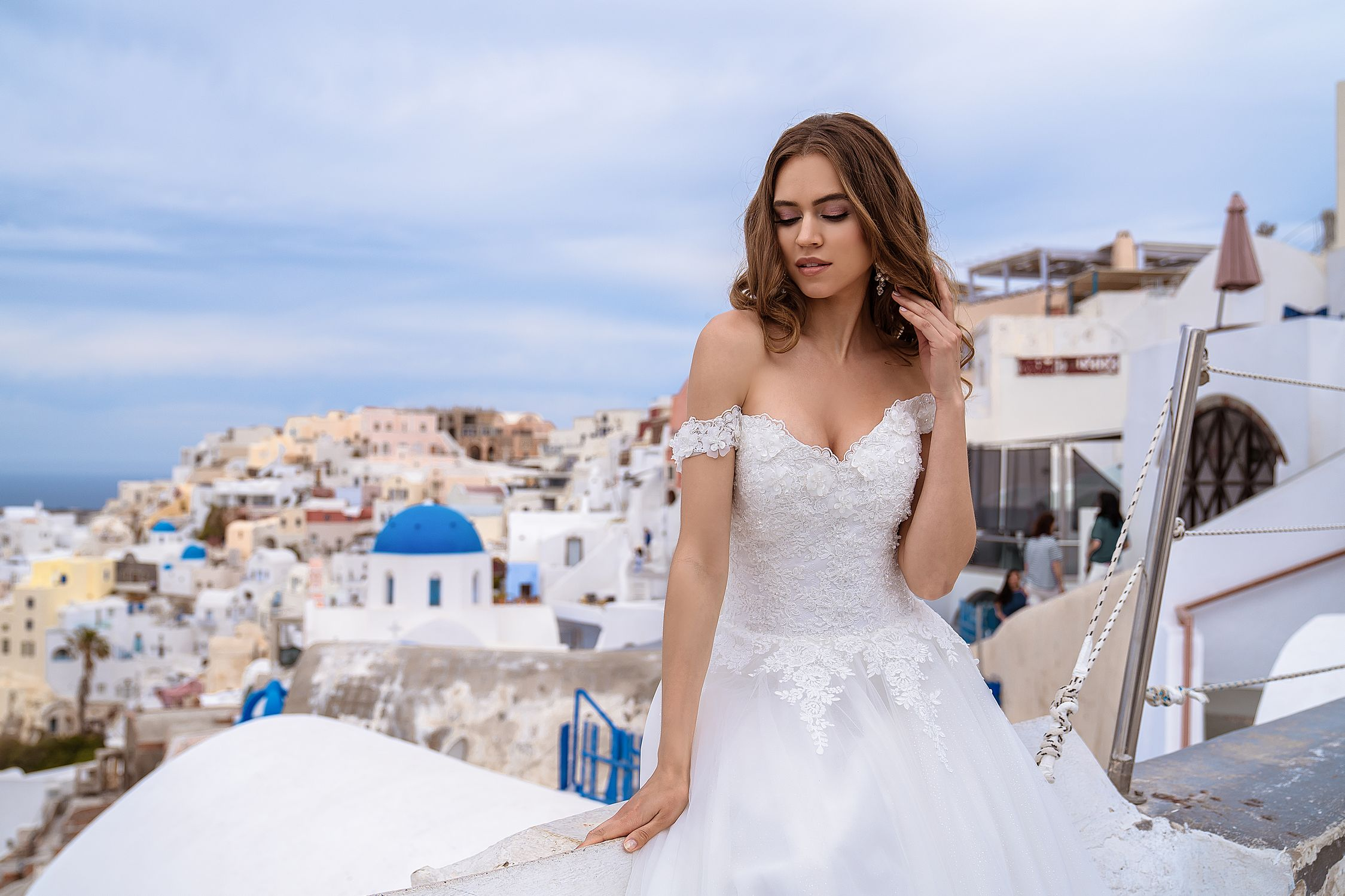 Wedding dress off the shoulder from TM Silviamo wholesale-1