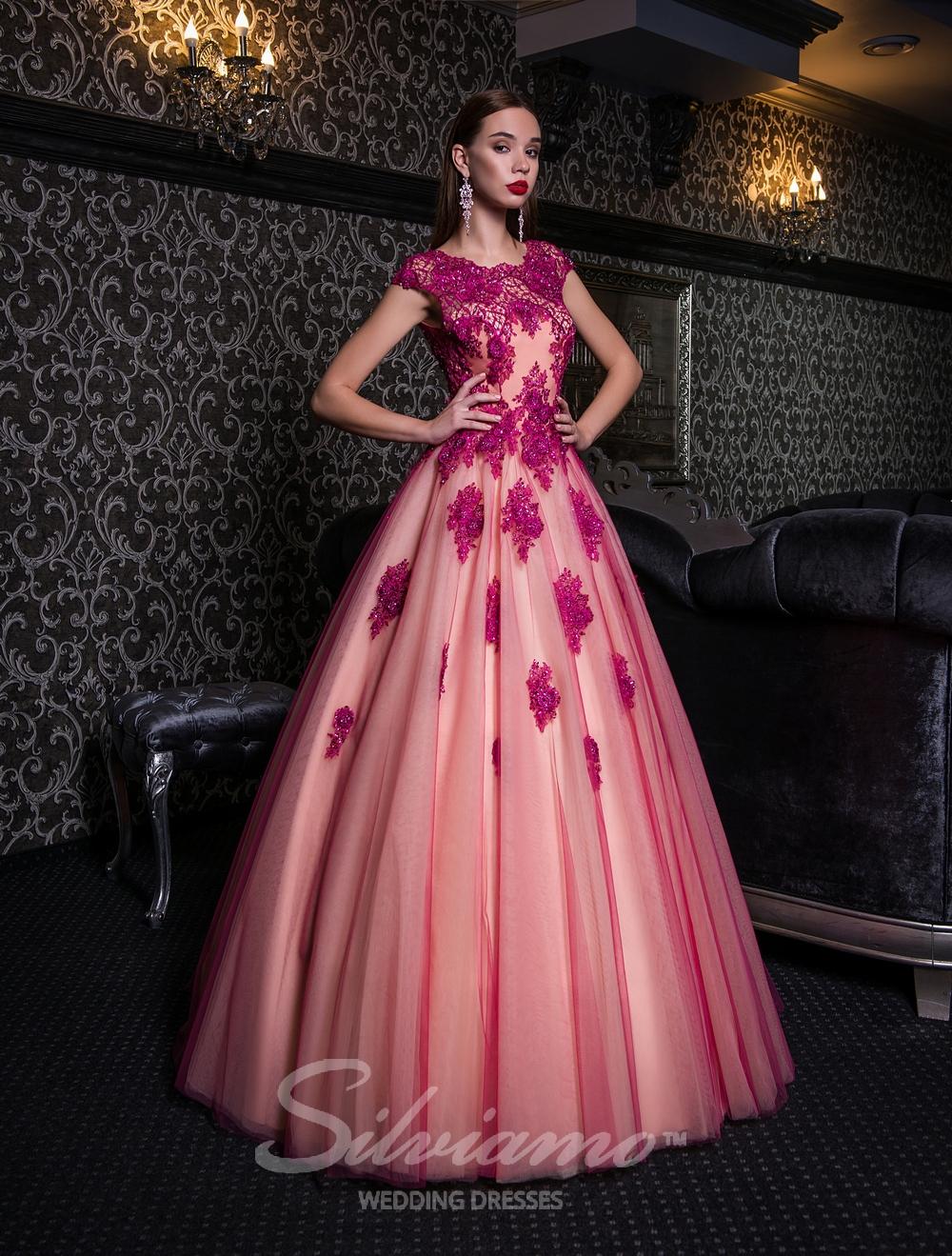 Пышное вечернее платье оптом