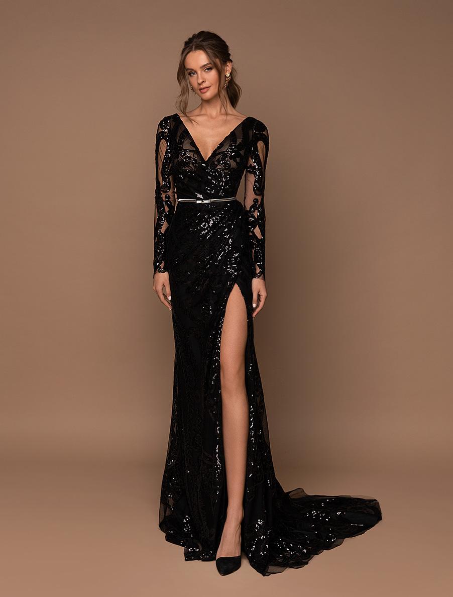Вечірні сукні оптом V-184-1