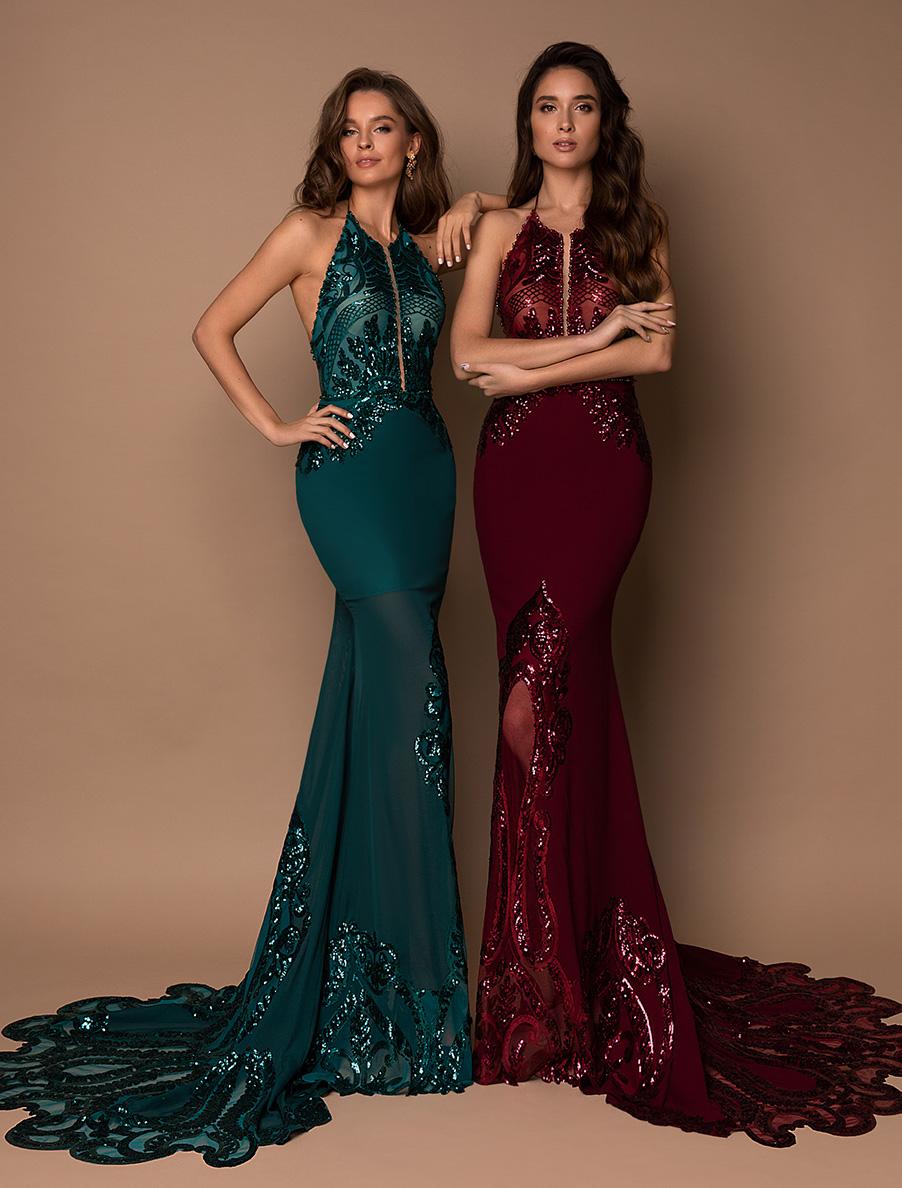 Вечірні сукні оптом V-196-1