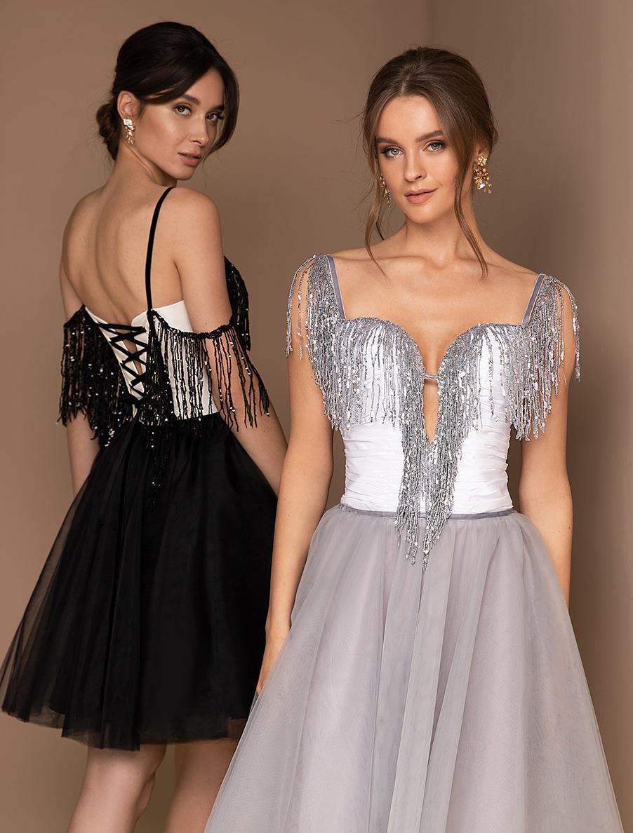Вечірні сукні оптом V-198-1