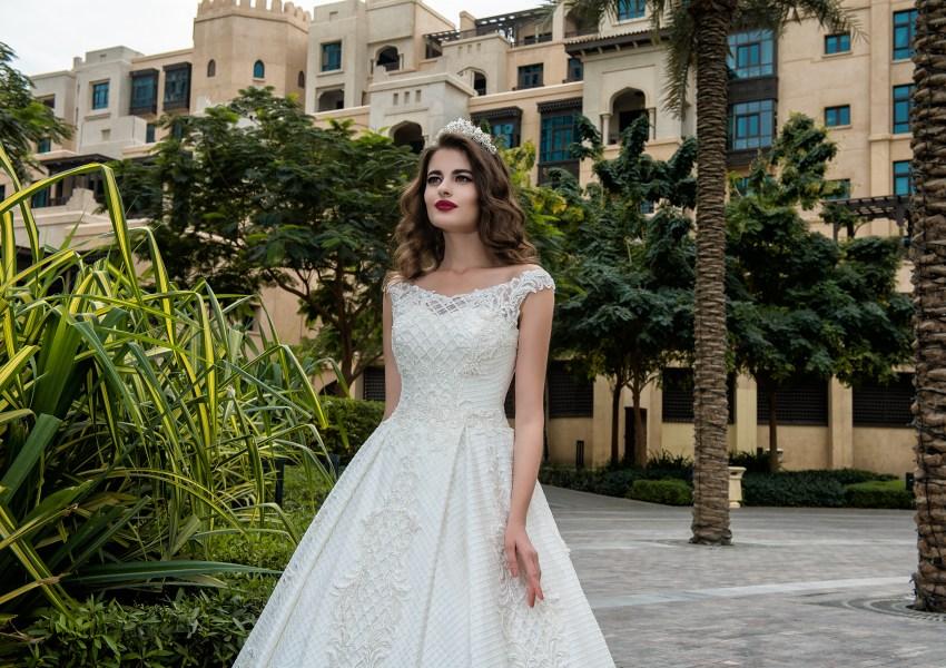 Wedding dress with straps Annabella-2