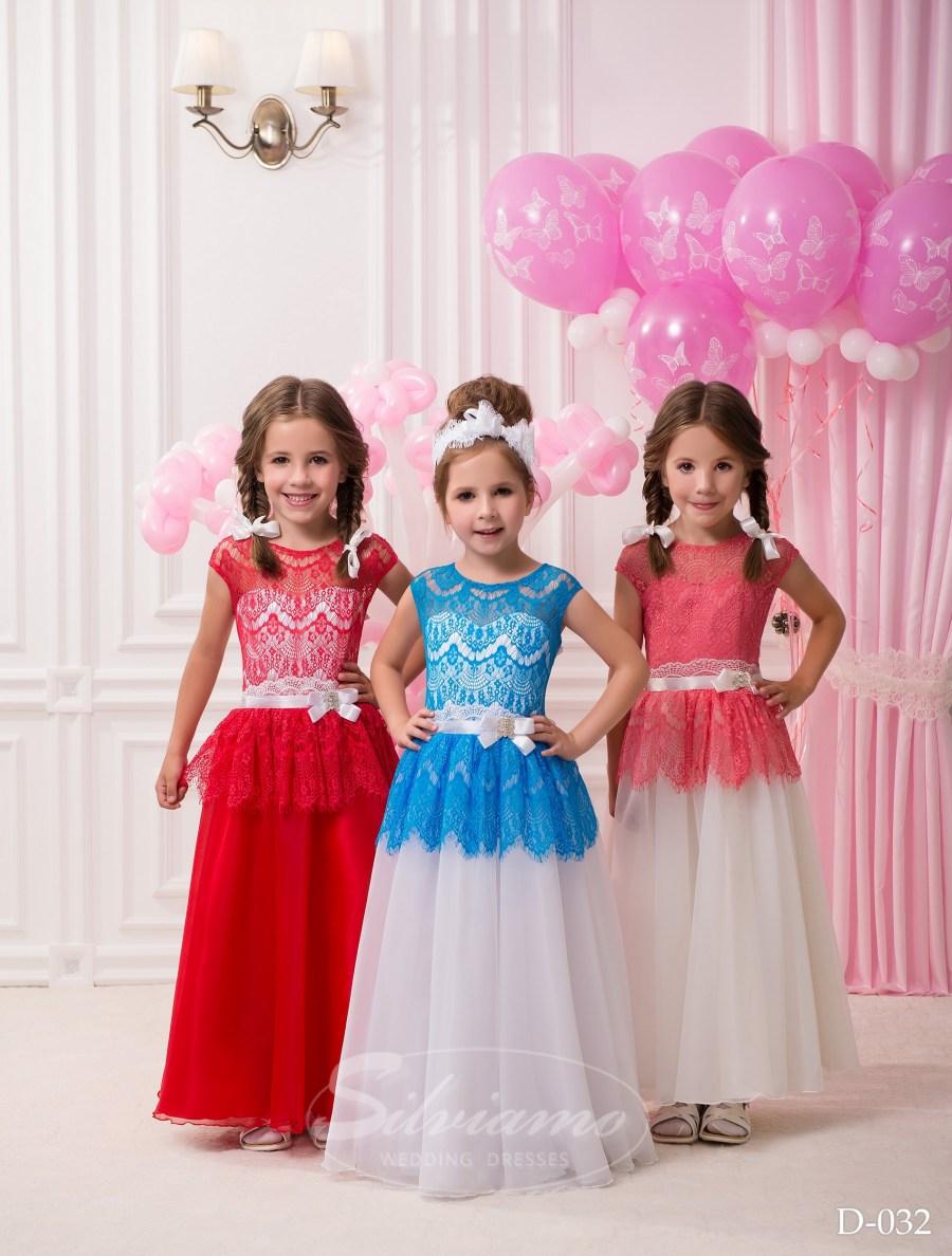 Детские платья оптом от производителя ТМ «Silviamo» D-032 c9efeaa5629