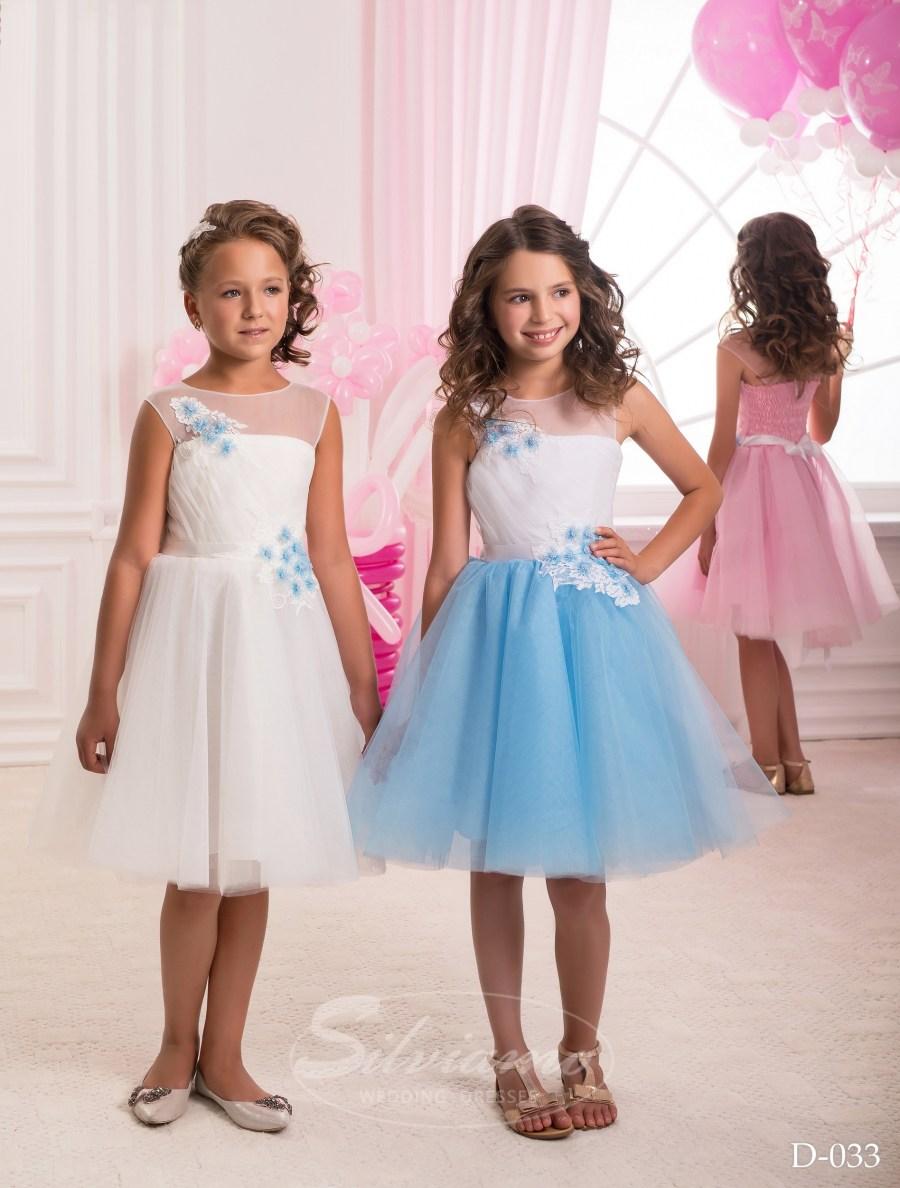 Детские платья оптом от производителя ТМ «Silviamo» D-033 655dbb89f29