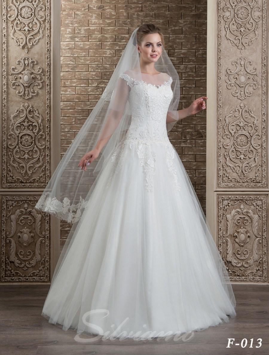 The fatin cuffed veil model F-013-2
