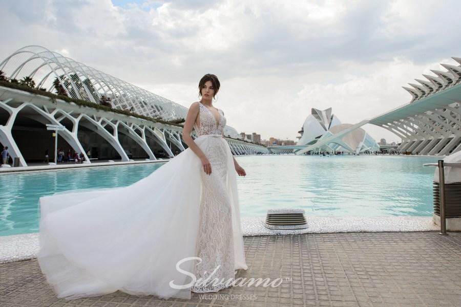 Свадебное платье годе-трансформер