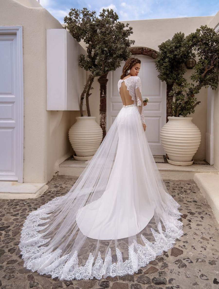 Wedding dress transformer exclusive wholesale from designers of TM Silviamo-4