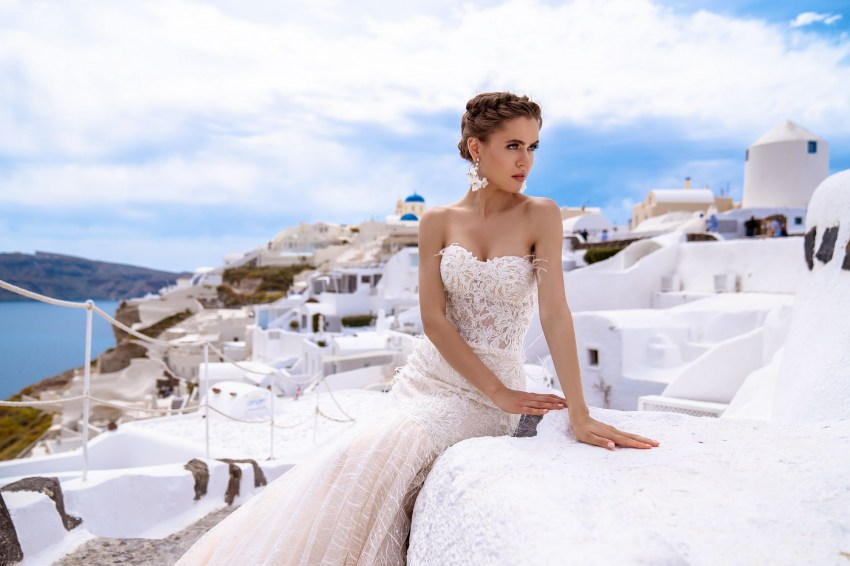 Wedding dress fish with the cape from TM Silviamo wholesale-2