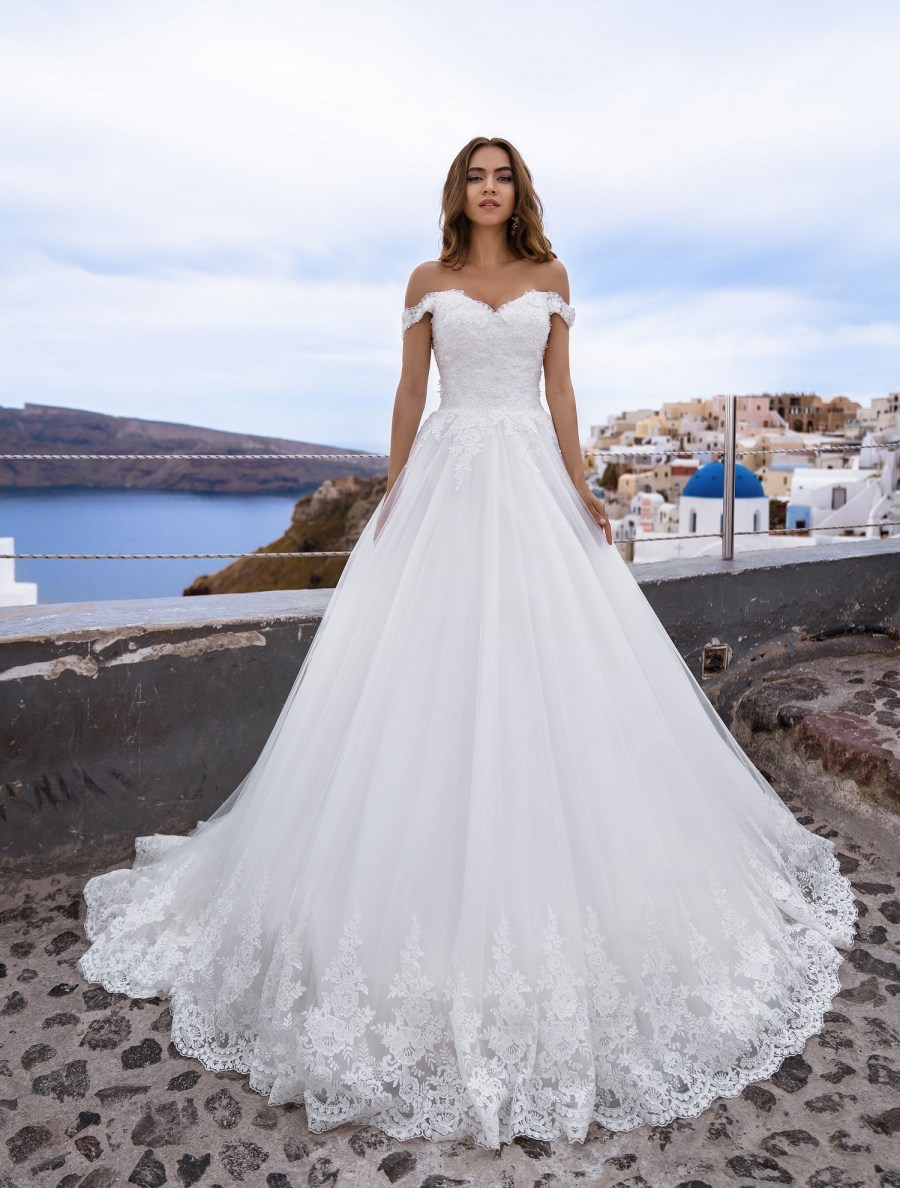 Wedding dress off the shoulder from TM Silviamo wholesale-4