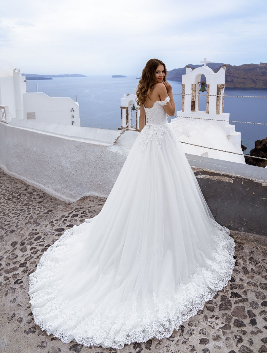 Wedding dress off the shoulder from TM Silviamo wholesale-5