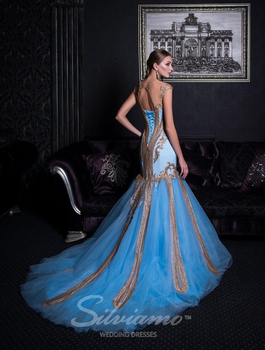 Evening fishtail dress-4