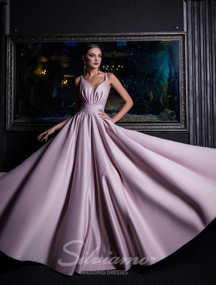 Элегантное вечернее платье в пол фото