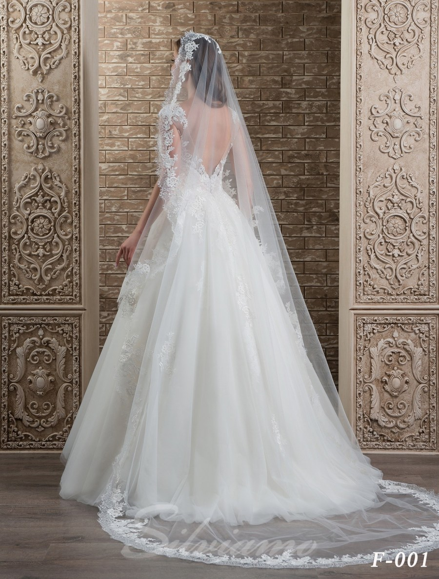 The fatin spanish veil model F-001-3