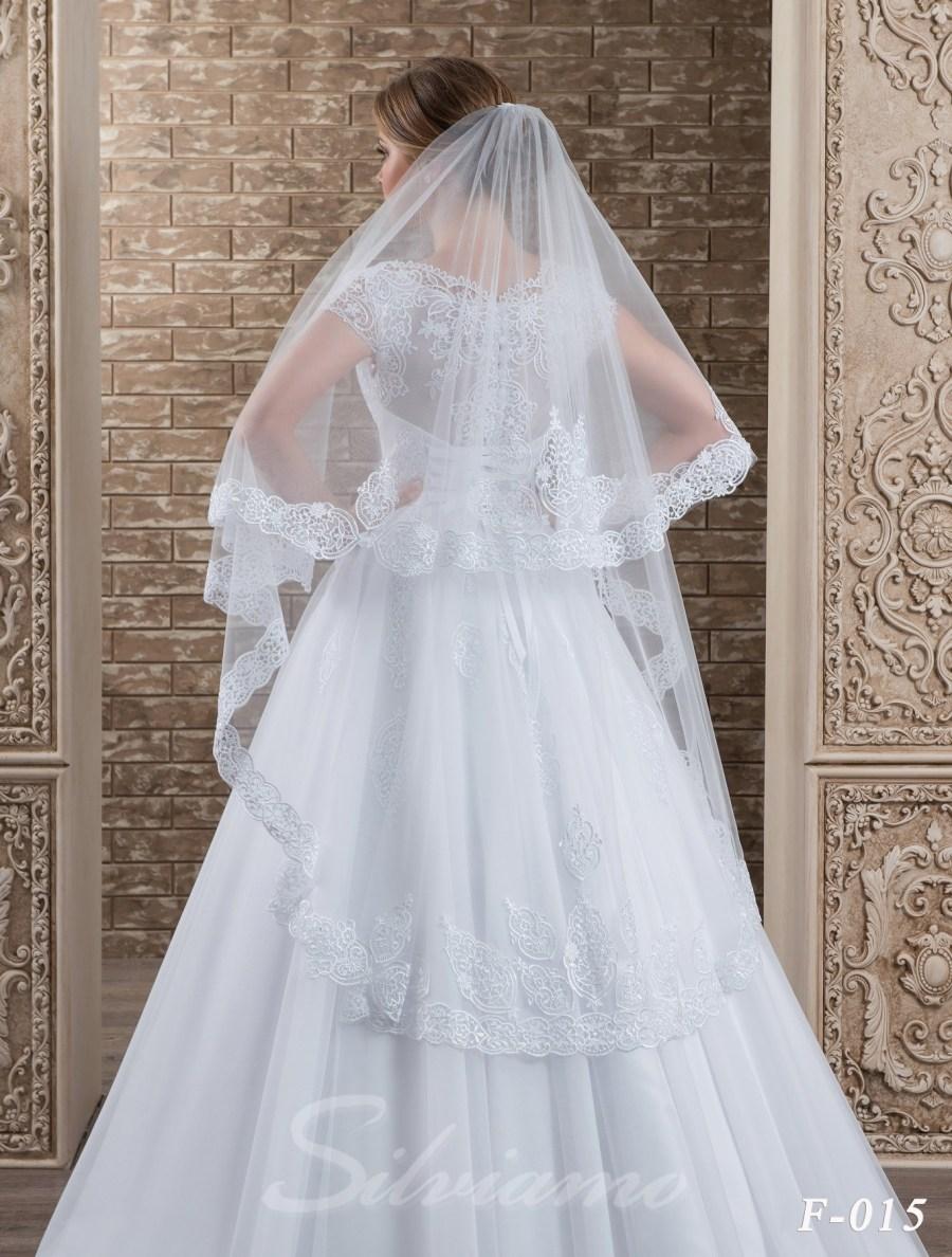 The fatin cuffed veil model F-015-2
