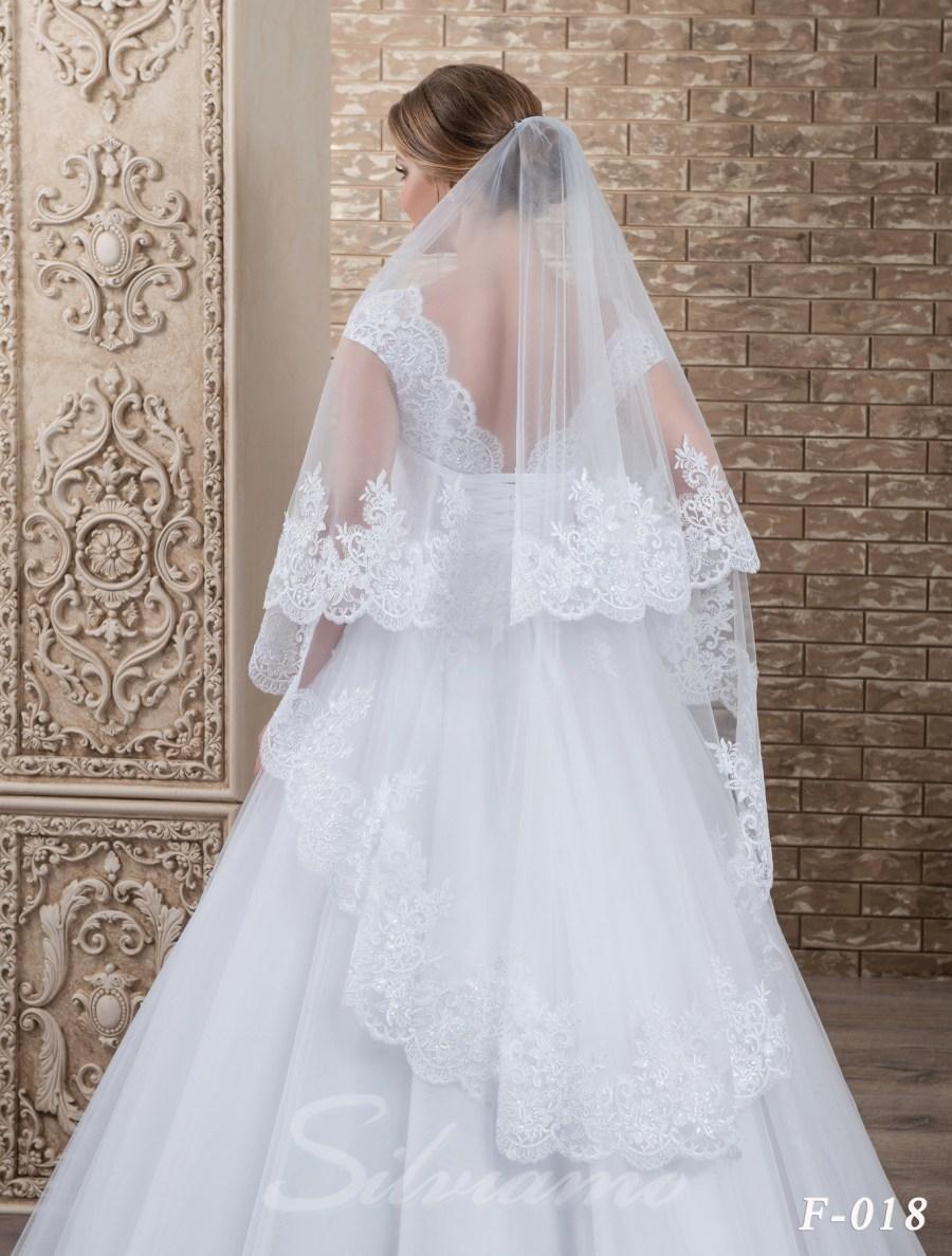 The fatin cuffed veil model F-018-3