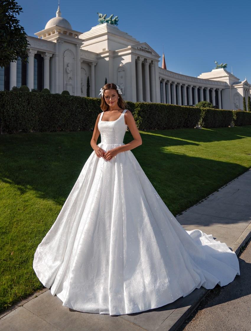 Королевское свадебное платье-2
