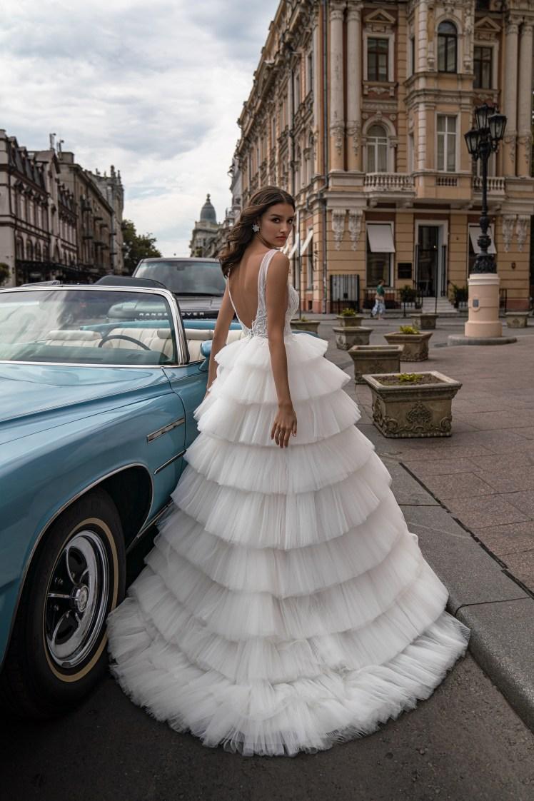 Silviamo wedding dress with spaghetti straps-4