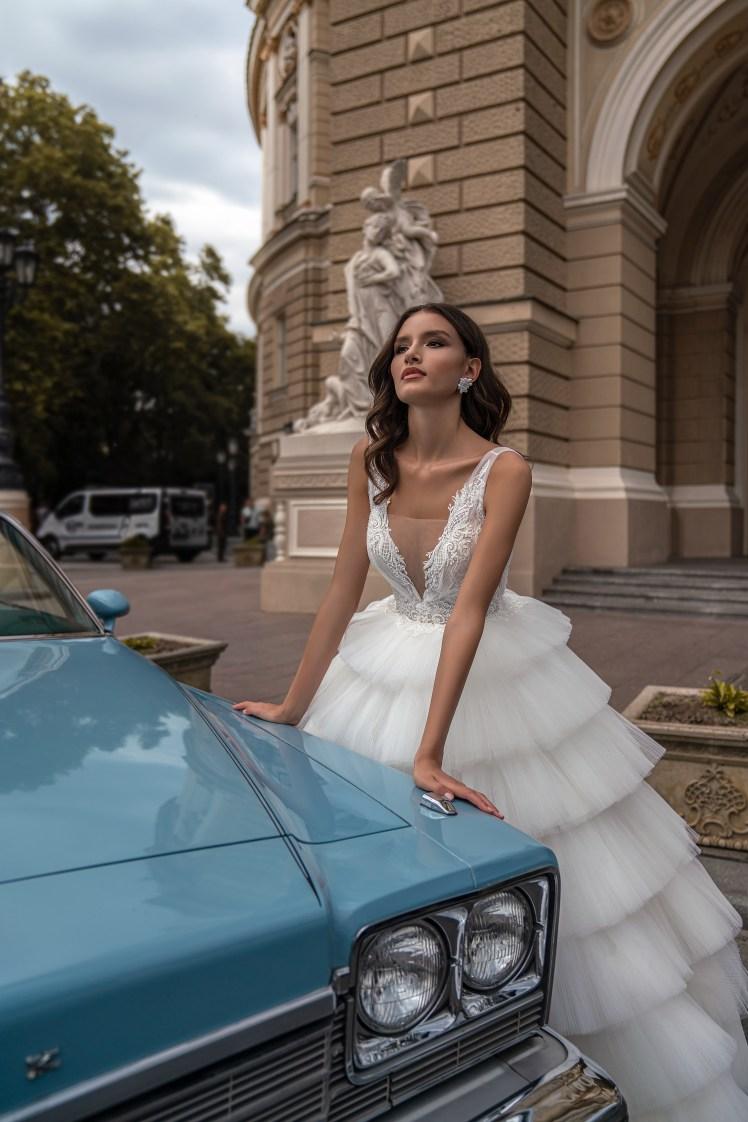 Silviamo wedding dress with spaghetti straps-6