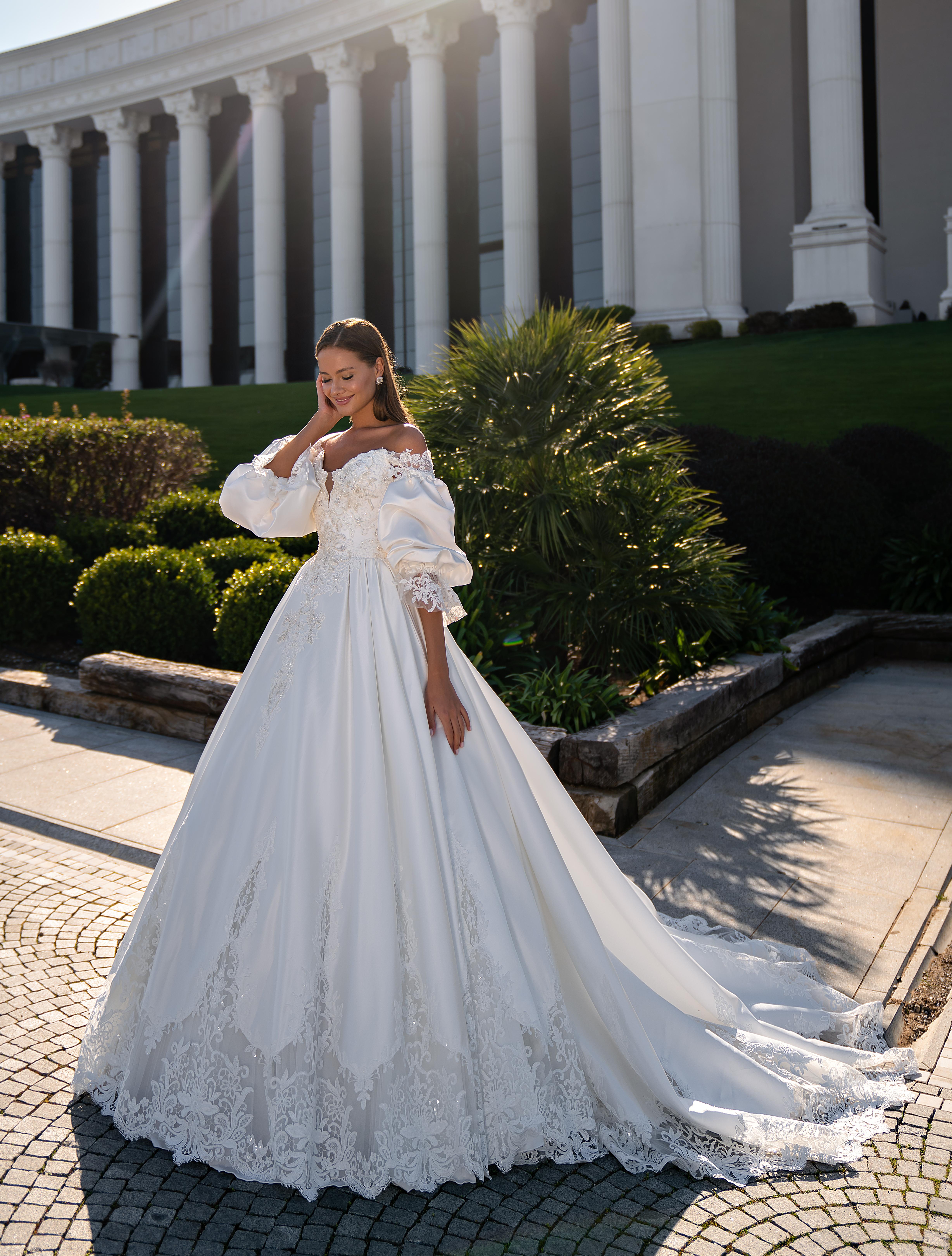 O rochie de mireasă stil prințesă-1